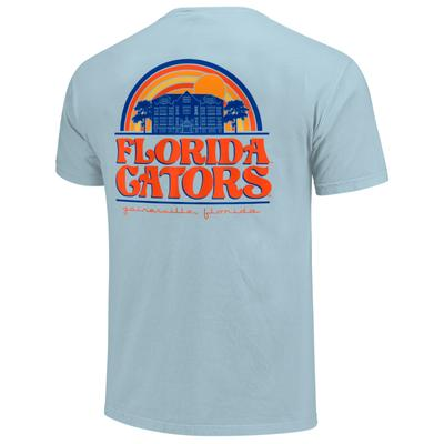 Florida Image One Rainbow Regal Building Comfort Color Tee