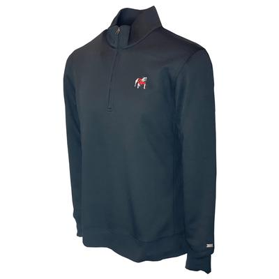 Georgia Nike Golf Men's Player Half Zip Pullover