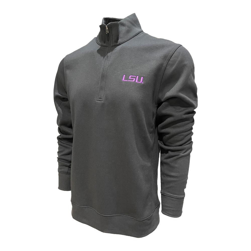 Lsu Nike Golf Men's Player Half Zip Pullover