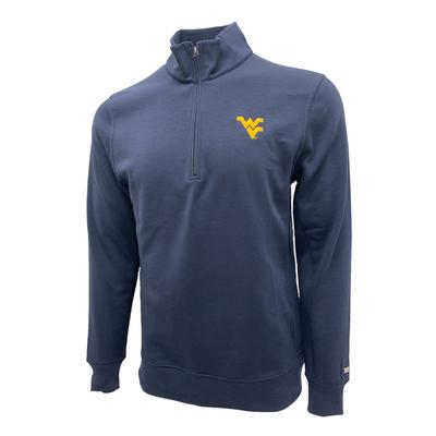 West Virginia Nike Golf Men's Player Half Zip Pullover