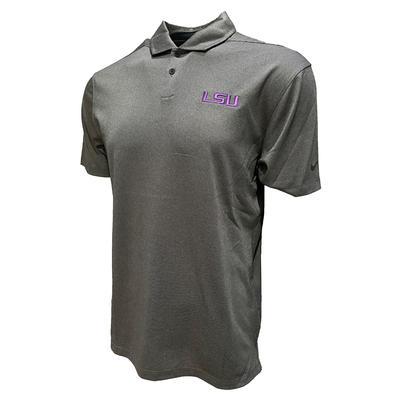 LSU Nike Golf Men's Vapor Texture Polo