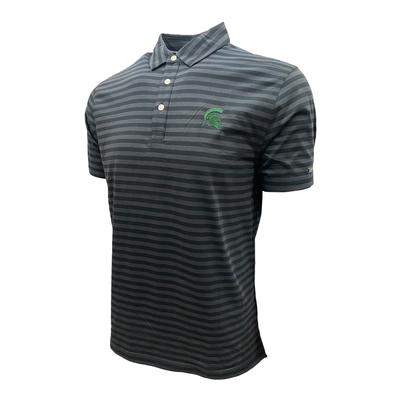 Michigan State Nike Golf Men's Player Stripe Polo