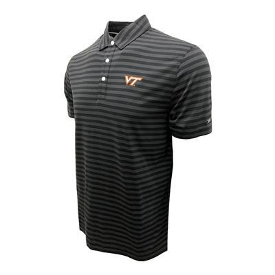 Virginia Tech Nike Golf Men's Player Stripe Polo