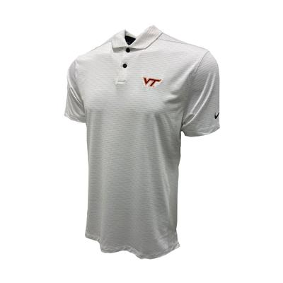 Virginia Tech Nike Golf Men's Vapor Micro Stripe Polo