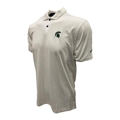Michigan State Nike Golf Men's Vapor Micro Stripe Polo