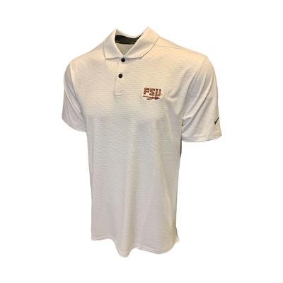 Florida State Nike Golf Men's Vapor Micro Stripe Polo