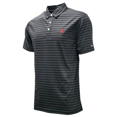 Alabama Nike Golf Men's Player Stripe Polo