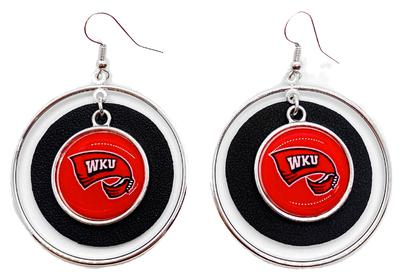 Western Kentucky Lindy Earrings