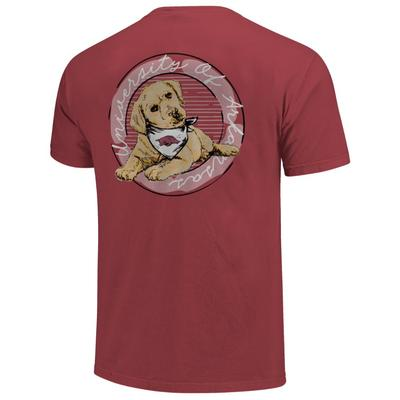 Arkansas Good Dog Comfort Color Women's Short Sleeve Tee