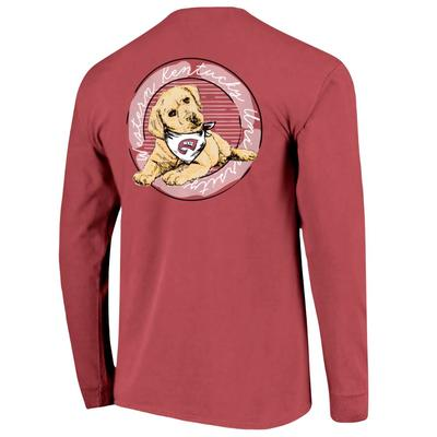 Western Kentucky Good Dog Comfort Color Women's Long Sleeve Tee