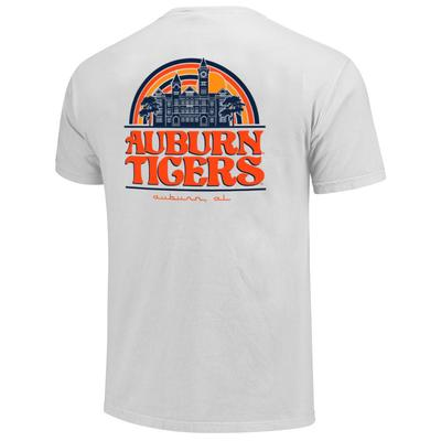 Auburn Campus Rainbow Comfort Colors Women's Short Sleeve Tee