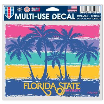 Florida State Beach Sunset Decal