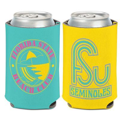 Florida State Beach Club Can Cooler