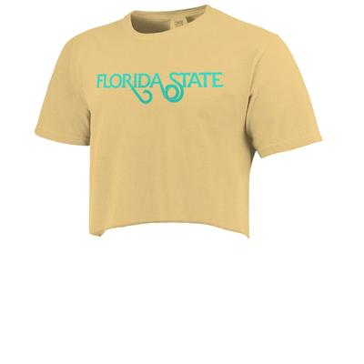 Florida State Women's Comfort Color Spring Break Cropped Tee