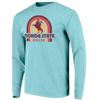 Florida State Beach Colors Women's Long Sleeve Shirt