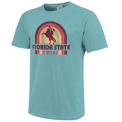 Florida State Beach Colors Short Sleeve Tee