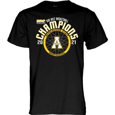 Appalachian State Basketball 2021 Sun Belt Tournament Champions Tee
