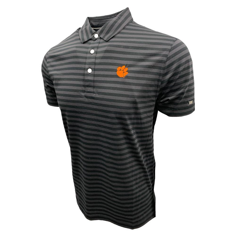 Clemson Nike Golf Men's Player Stripe Polo