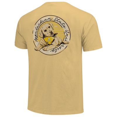 Appalachian State Good Dog Comfort Color Women's Short Sleeve Tee
