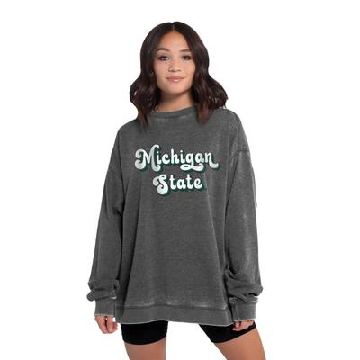 Michigan State Chicka-D Women's Groovy Shadow Campus Crew