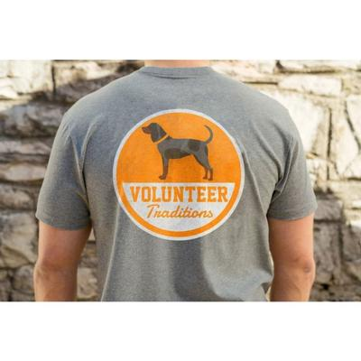 Tennessee Volunteer Traditions Bluetick Patch Pocket Tee