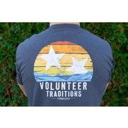 Tennessee Volunteer Traditions Valley Tri- Star Navy Pocket Tee