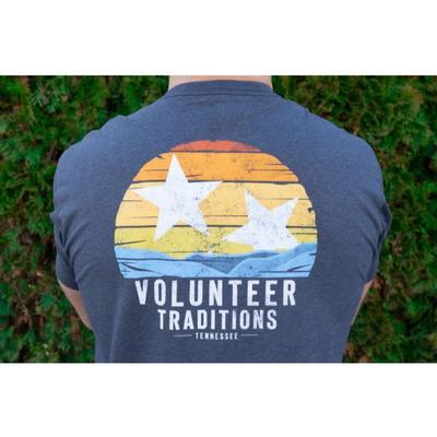 Tennessee Volunteer Traditions Valley Tri-Star Navy Pocket Tee