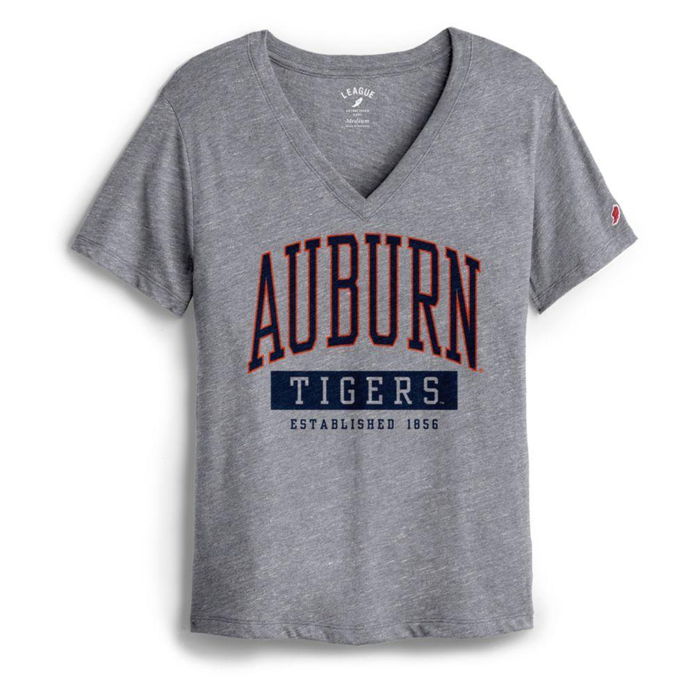 Auburn League Women's Intramural Boyfriend V Neck Tee