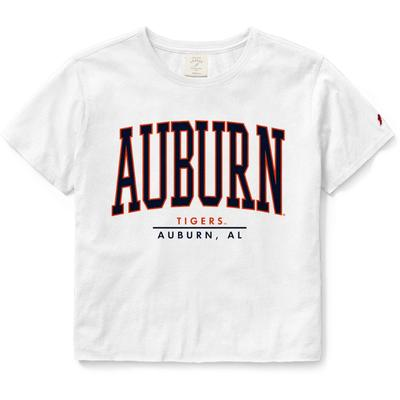Auburn League Women's Clothesline Crop Tee