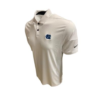 UNC Nike Golf Men's Victory Micro Print Polo