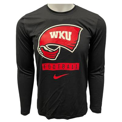 Western Kentucky Nike Men's Dri-Fit Legends Long Sleeve Tee