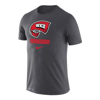 Western Kentucky Nike Men's Dri-Fit Legends Logo Short Sleeve Tee