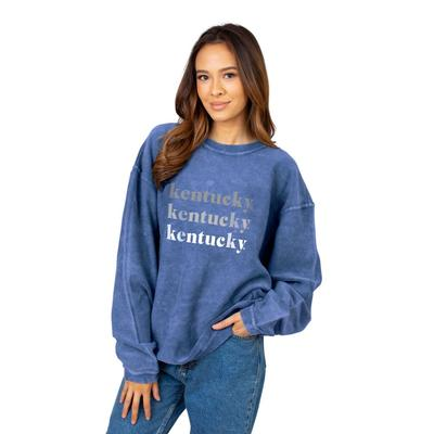 Kentucky Chicka-D Repeating Corded Sweatshirt