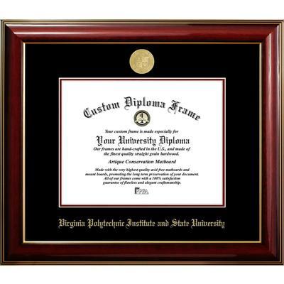 Virginia Tech Classic Diploma Frame