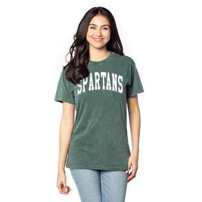 Michigan State Chicka-D Everybody Tall Outline Tee