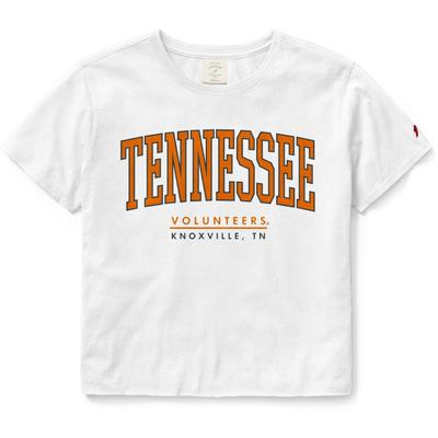 Tennessee League Women's Clothesline Crop Tee