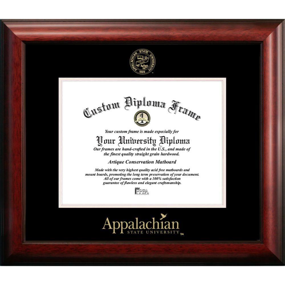 Appalachian State University Satin Diploma Frame