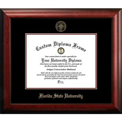 Florida State Satin Diploma Frame