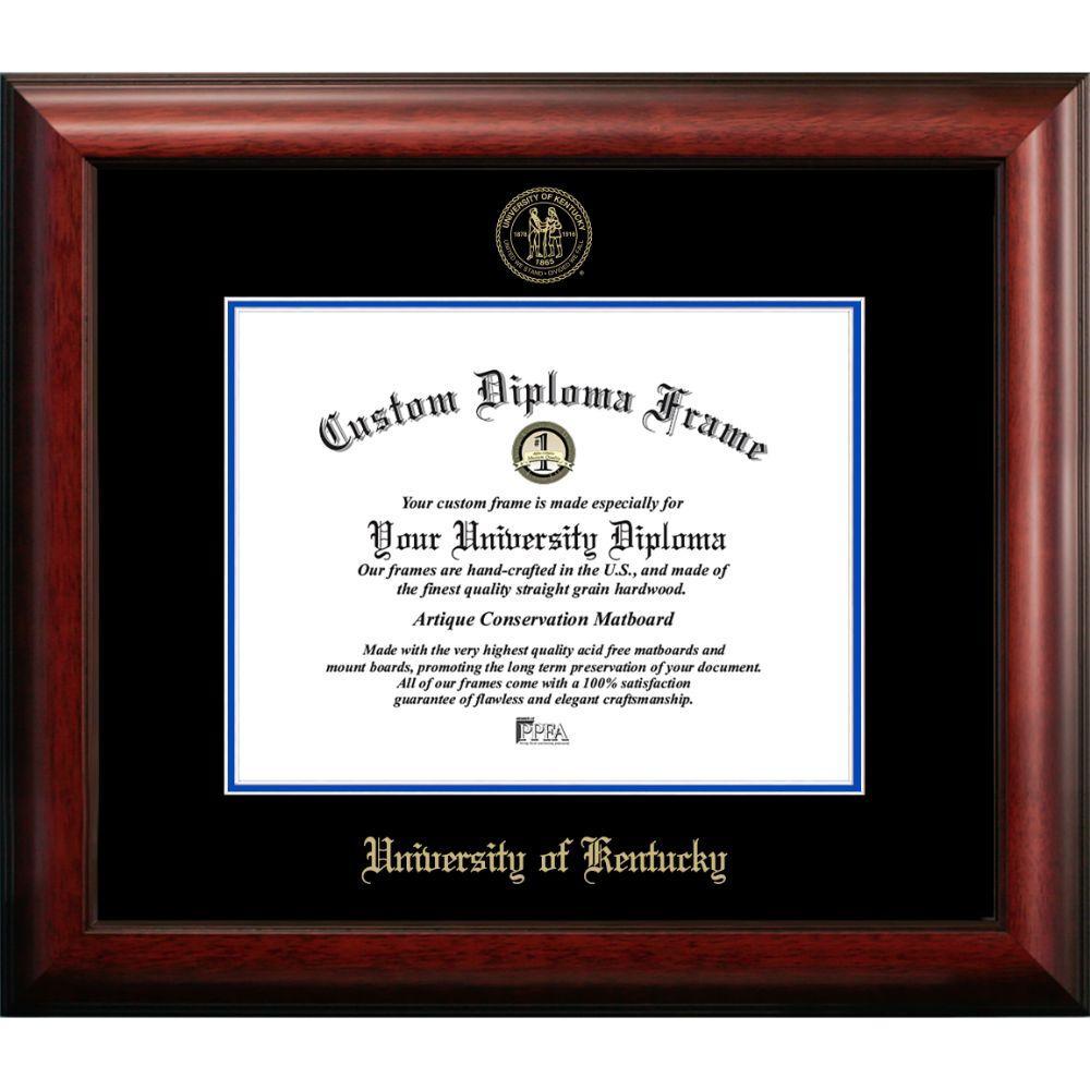 University Of Kentucky Satin Diploma Frame