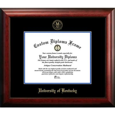 University of Kentucky Satin Diploma Frame