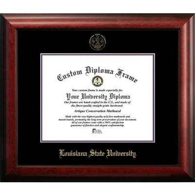 Louisiana State Satin Diploma Frame