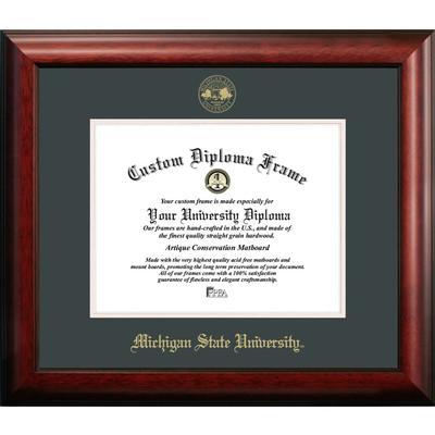Michigan State Satin Diploma Frame