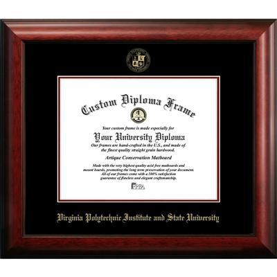 Virginia Tech Satin Diploma Frame