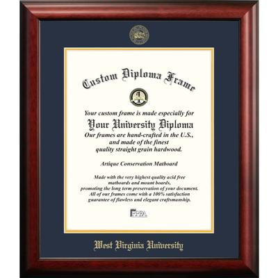 West Virginia University Satin Diploma Frame