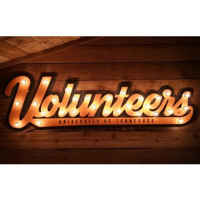 Tennessee 3D Lit Metal Sign