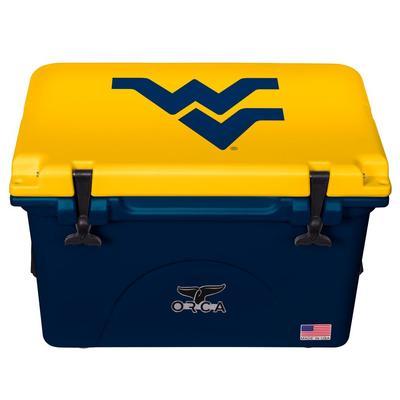 West Virginia ORCA 40 oz Cooler