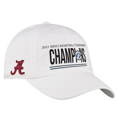 Alabama 2021 SEC Basketball Tournament Champions Hat