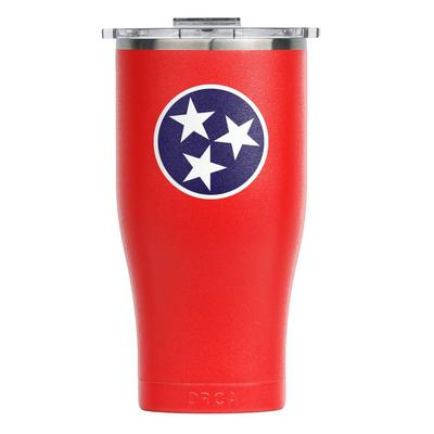 Tennessee Tri Star ORCA Red 27 oz Chaser Tumbler
