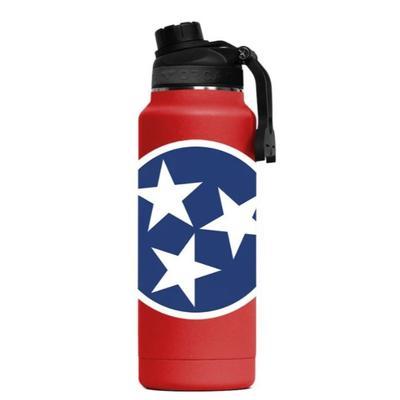 Tennessee Tri Star ORCA Hydra 34 oz Bottle