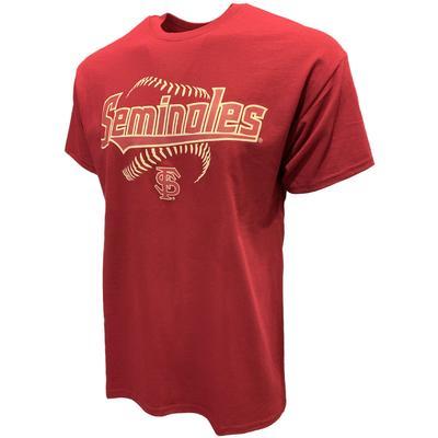 Florida State Seminoles Short Sleeve Baseball Tee